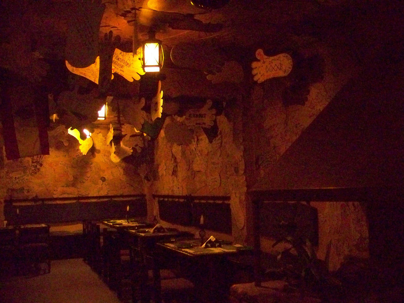 0669 - Inside Walls of Rum Doodle Restaurant - Katmandu Nepal.JPG