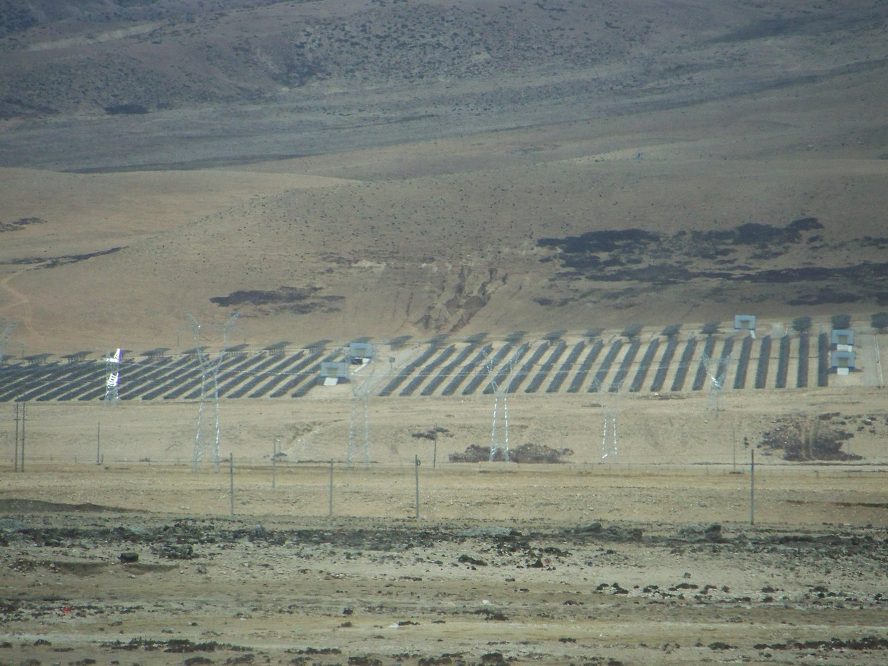0123 - Solar Panels near Lhasa on Train Trip Between Beijing and Lhasa.JPG