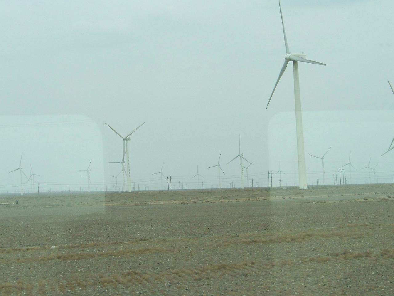 0081 - Wind Farm on Train Trip Between Beijing and Lhasa.JPG