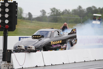 Top Alcohol Funny Car on Track Action