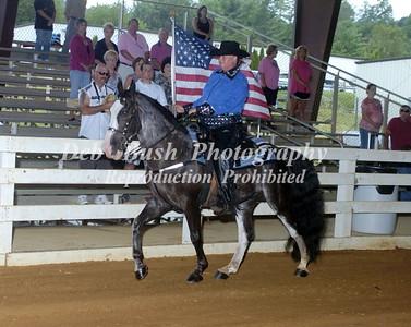 FLAG HORSE - OPENING CEREMONIES