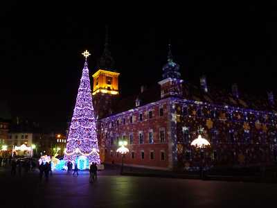 The Kings Castle (Zamek Krolewski) at Old Town in Warsaw, Poland