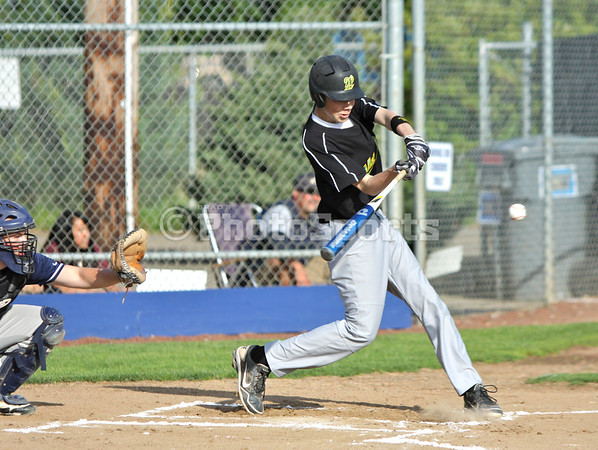 West Linn vs Canby May 29, 2012