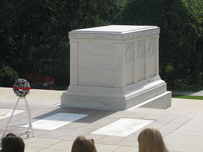 The Tomb of the Unknown Soldier at Arlington