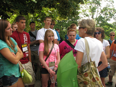Our tour guide Linda was so awesome!