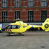120509: Amsterdam Central Station. Air Ambulance