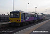 121124-003     Northern Rail pacer unit, class 144 no. 144013 calls at Shireoaks with 2H03, the 08.03 Sheffield - Cleethorpes.
