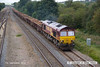 120907-009     DB Schenker class 66/0 no. 66088 is seen passing Tupton, powering train 6Z35, 07.08 Tyne S.s. - Toton north yard..