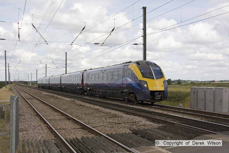 120715-020     Hull Trains class 180 unit no. 180111 speeds past Claypole with 1A92, the 09.30 Hull - London King's Cross.