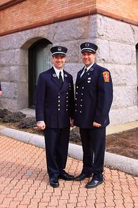 Capt. Kevin Galligan, Lt Chris Tilton