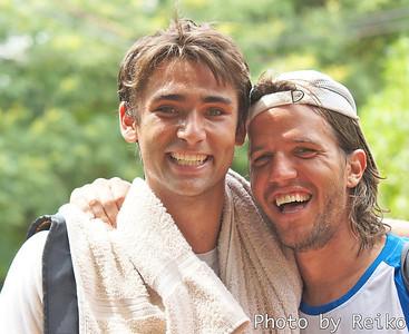 Nicolas Pastor(タンディル)とJuan Pablo Brzezicki