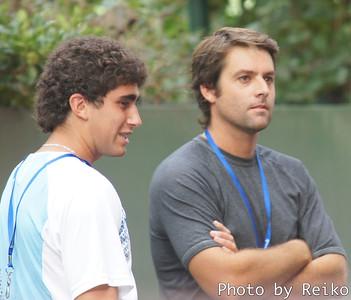 Facundo ArguelloとAgustin Calleri(ふたりともコルドバ州出身だったと思う)