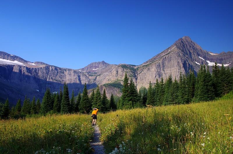 Swiftcurrent Pass Glacier National Park Montana