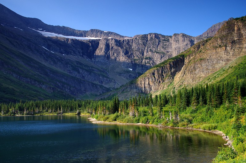 Swiftcurrent Pass Glacier National Park Montana
