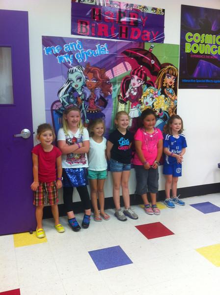 2013-0817 Sloane's Birthday Party at BounceU