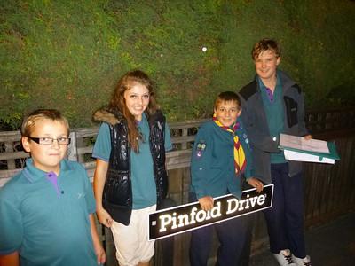 Scout Troop Night: Crofton Monoply Run - September 2013.