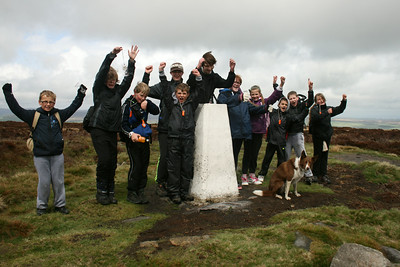 Scouts Ilkley Walk - May 2013