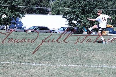 Soccer vs Trinity Episcopal - Sep 2013