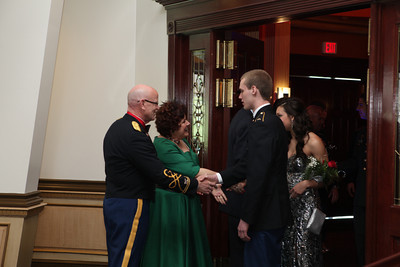 Military Ball Arrival Candids