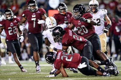 NCAA Football 2015: Charleston Southern vs Troy University SEP 12