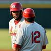 Shane Roper/MiLB<br /> <br /> Aug 16, 2015 Springfield Cardinals  vs Frisco RoughRiders at Dr. Pepper Ballpark in Frisco, Texas.