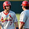 Springfield Cardinals second baseman Bruce Caldwell (7)