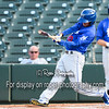 Tulsa Drillers center fielder Peter Lavin (20)
