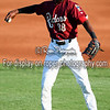 Frisco RoughRiders center fielder Lewis Brinson (38)