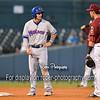 Midland RockHounds second baseman Colin Walsh (6) Frisco RoughRiders third baseman Drew Robinson (16)