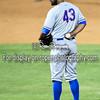 Midland RockHounds pitcher Kris Hall (43)