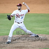 Frisco RoughRiders pitcher Andrew Faulkner (24)