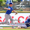 Midland RockHounds second baseman Chad Pinder (10)