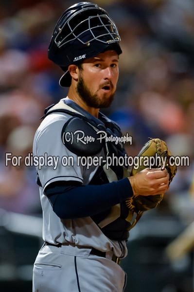 San Antonio Missions catcher Jason Hagerty (22)