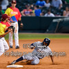 Frisco RoughRiders shortstop Beamer Weems (4) San Antonio Missions DH Tyson Gillies (23)