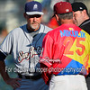 Frisco RoughRiders manager Joe Mikulik (25) San Antonio Missions manager Jamie Quirk (9)