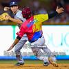 San Antonio Missions shortstop Trea Turner (4)  Frisco RoughRiders third baseman Luis Mendez (2)