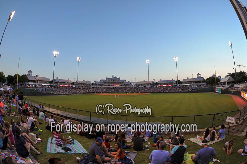 Dr. Pepper Stadium on Full House night