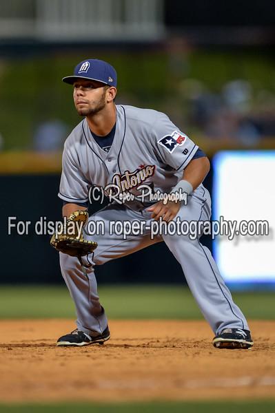 San Antonio Missions first baseman Luis Domoromo (7)