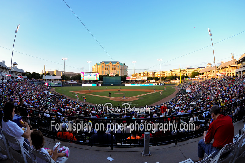 "General view Dr. Pepper Stadium on ""Full House"" night"