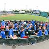 June 14, 2016  Midland Rockhounds vs Frisco Roughriders at Dr. Pepper Ballpark in Frisco, Texas. (Shane Roper/MiLB)