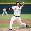 Frisco RoughRiders pitcher Jack Snodgrass (25)