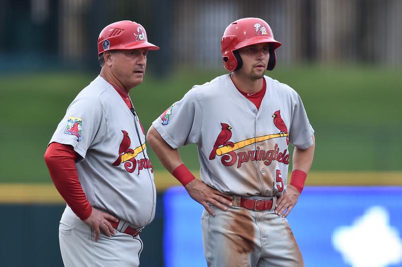 Springfield Cardinals outfielder Thomas Spitz (5)