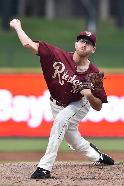 Frisco RoughRiders pitcher Reed Garrett (32)