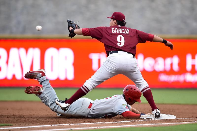 Frisco RoughRiders shortstop Edwin Garcia (9)