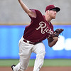 Frisco RoughRiders pitcher Reed Garrett (32)