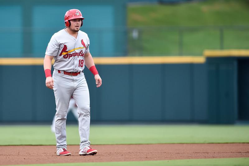 Springfield Cardinals DH Luke Voit (18)