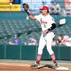 Frisco RoughRiders first baseman Ronald Guzman (31)