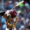 Frisco RoughRiders center fielder Lewis Brinson (25)