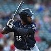 San Antonio Missions right fielder Yeison Asencio (25)