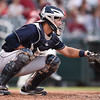 San Antonio Missions catcher Ryan Miller (22)